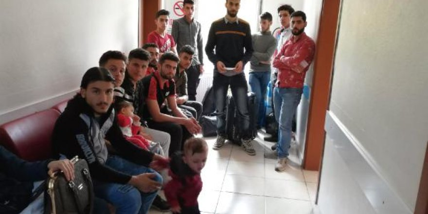 Minibüsünde kaçak göçmen yakalanan sürücüye 33 bin lira ceza