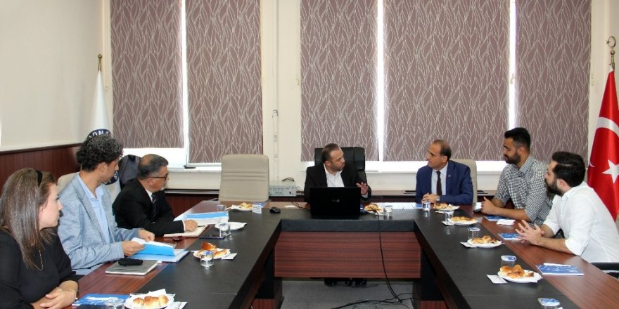 ADÜ Teknokent'e Sanayi ve Teknoloji Bakanlığı Temsilcilerinden ziyaret
