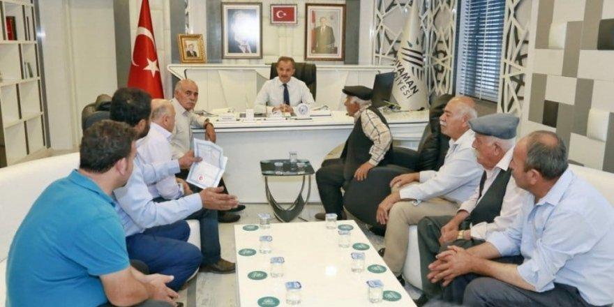 Başkan Kılınç, Yeşilyurt Mahallesinin sorunlarını dinledi