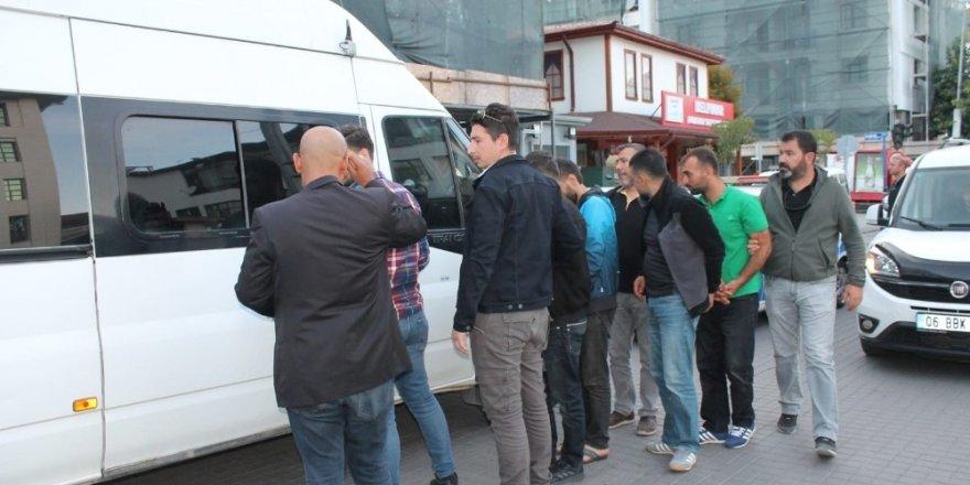 Ankara'da 1 milyon liralık vurgun yapan hırsızlık şebekesi çökertildi