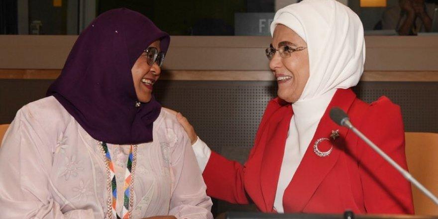 Emine Erdoğan, New York'ta Sıfır Atık etkinliğine katıldı