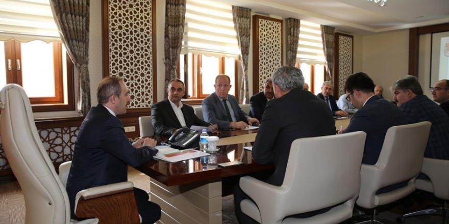 Bayburt'ta KÖYDES Yatırım İzleme ve Değerlendirme toplantısı yapıldı