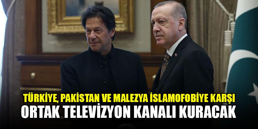 Türkiye, Pakistan ve Malezya İslamofobiye karşı ortak televizyon kanalı kuracak