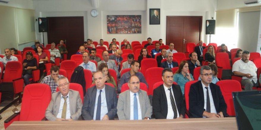 'Deniz Çöpleri İl Eylem Planı Hazırlık Toplantısı' yapıldı