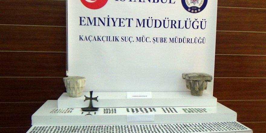 İstanbul'da tarihi eser kaçakçılarına operasyon