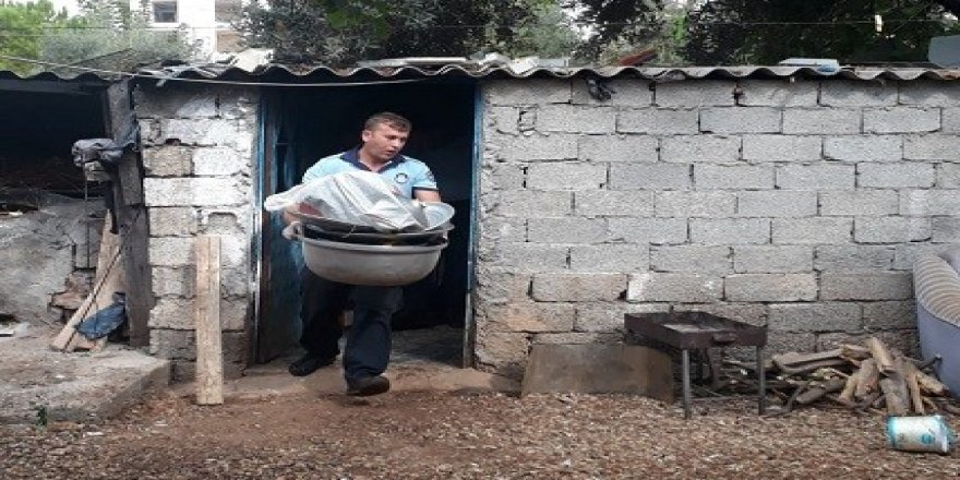 Antalya'da 1.5 tonluk midye operasyonu