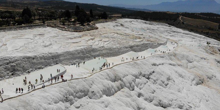 Denizli, nüfusunun 2 katından fazla turisti ağırladı
