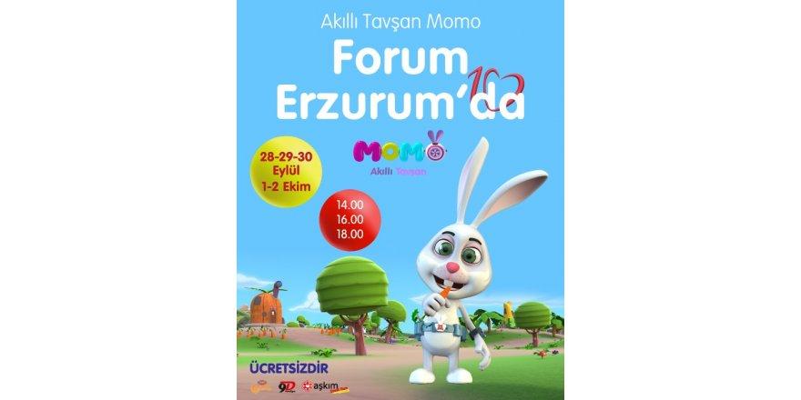 Akıllı Tavşan Momo Forum Erzurum'da