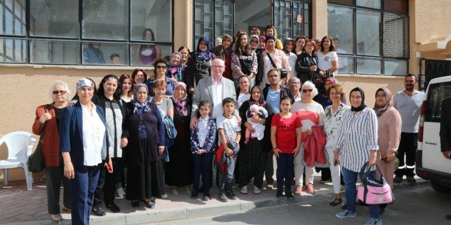 Başkan Kurt kadınlarla bir araya geldi