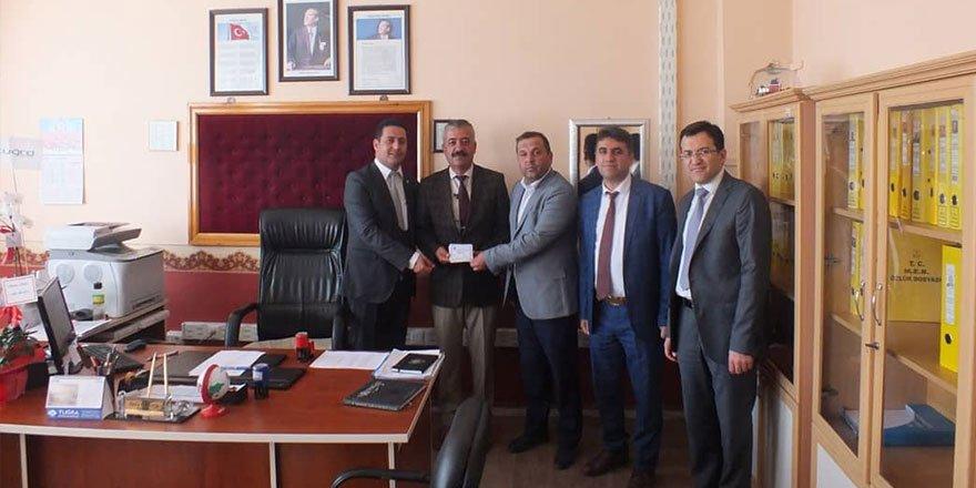 Beyşehir'de ihtiyaç sahibi öğrencilere eğitim yardımı yapıldı