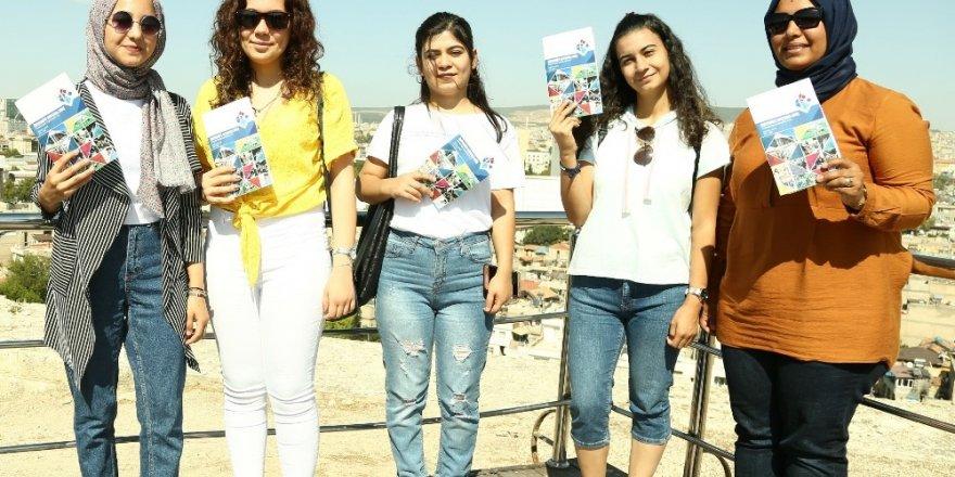 HKÜ'nün yeni öğrencileri oryantasyon ile Gaziantep'i tanıdı
