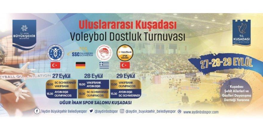 Kuşadası Uluslararası Voleybol Turnuvası'na ev sahipliği yapacak