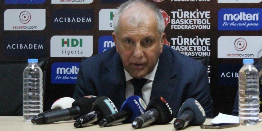 """Zeljko Obradovic: """"Bu maç sezonun ne kadar zor geçeceğini gösteriyor"""""""