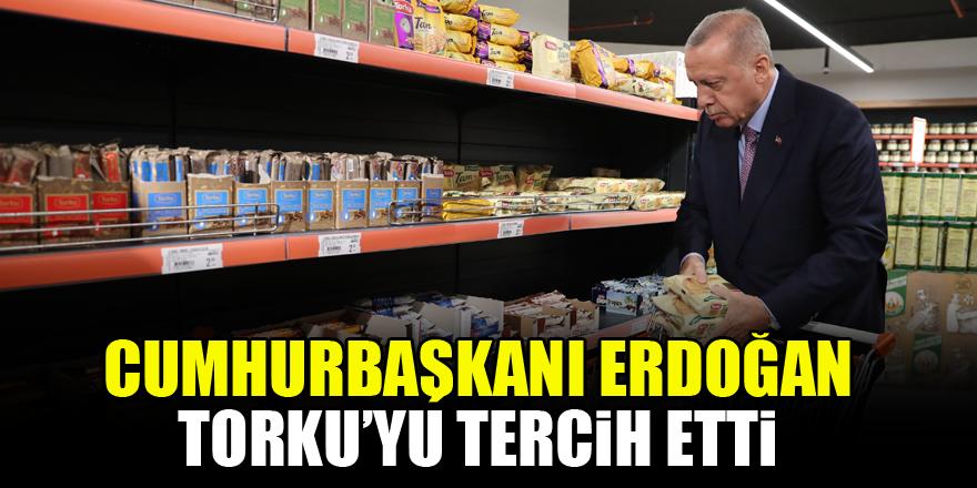 Cumhurbaşkanı Erdoğan Torku'yu tercih etti