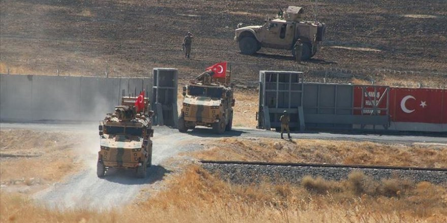 Turkey, US hold 3rd safe zone joint patrols in N.Syria