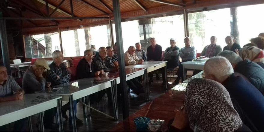 Hadim'de çiftçilere pazarlama semineri verildi
