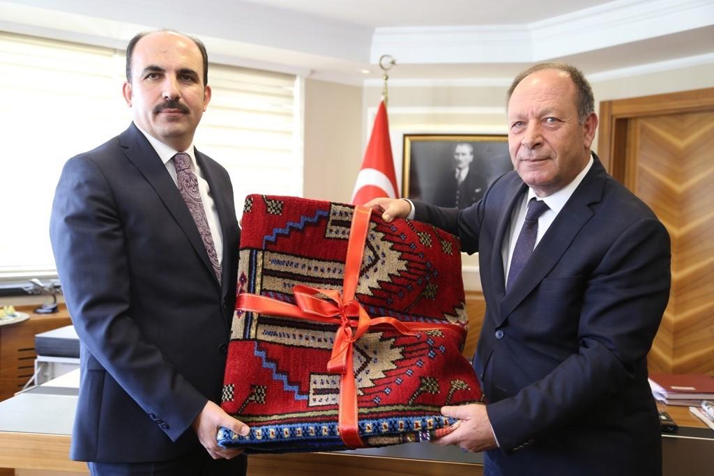 """Başkan Altay: """"Birlikte çalışma kültürü oluşmuş durumda"""""""