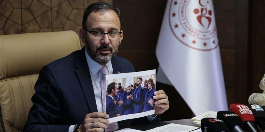 Bakan Kasapoğlu'dan UEFA'ya  tepki