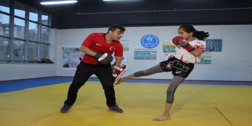 Dünya şampiyonu Gizem Nur, yeni madalyalar için çalışıyor