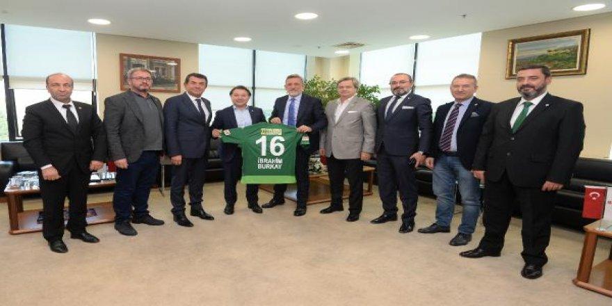 Bursaspor Başkanı Mesut Mestan: Şehrimizin Bursaspor için kenetlenmesi gerekiyor