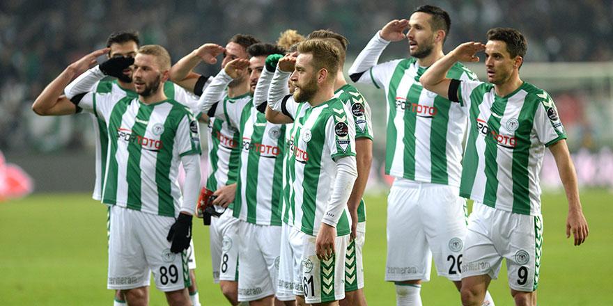 Konyaspor'dan anlamlı tweet