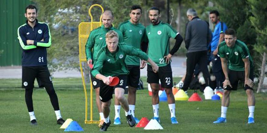 Konyaspor'da Malatyaspor maçı hazırlıkları sürüyor