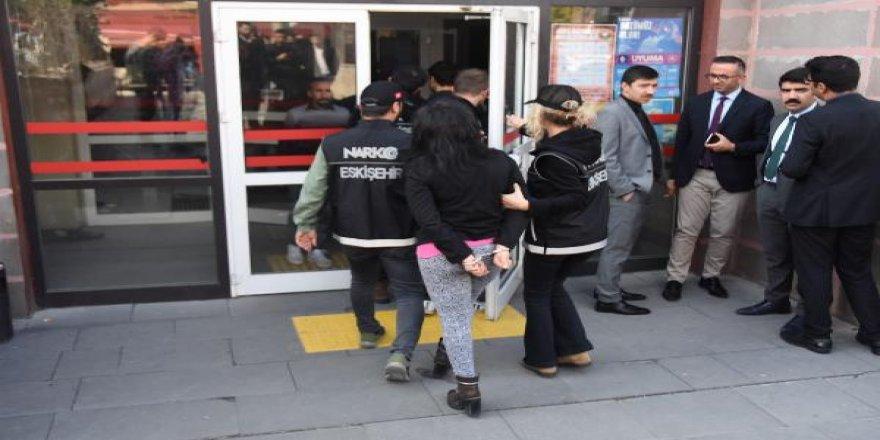 Eskişehir'de uyuşturucu operasyonu: 7 gözaltı