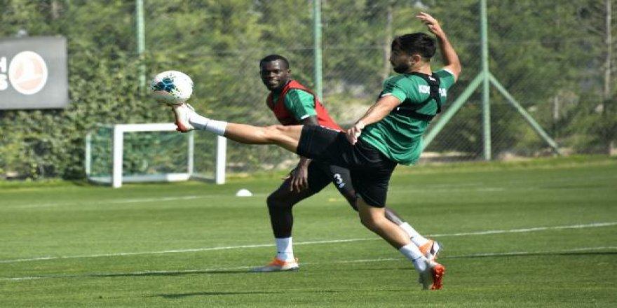 Konyaspor, şut ve gol çalıştı