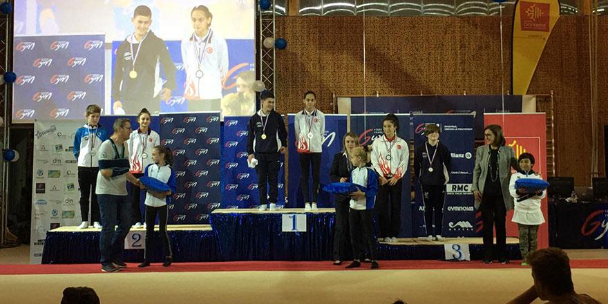 Konyaspor'lu sporcu altın madalya kazandı