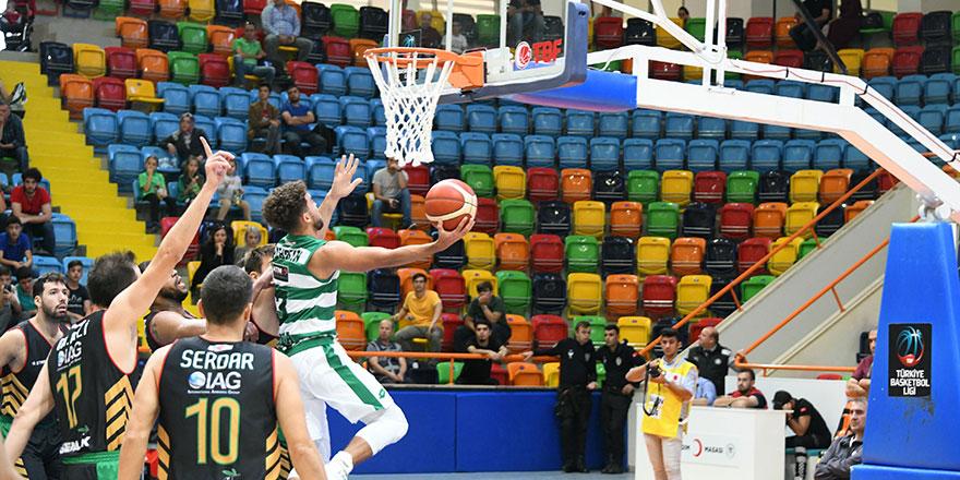 Konyaspor Basket Akhisar'a direnemedi