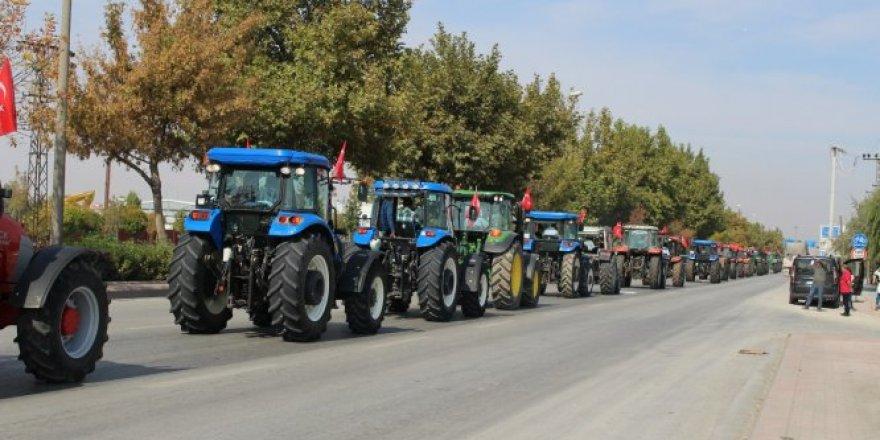 Konyalı çiftçilerden Mehmetçik'e destek