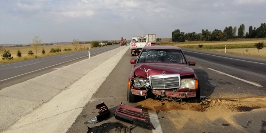 Ilgın'da trafik kazalarında  3 kişi yaralandı