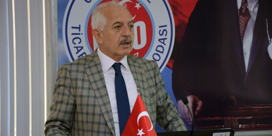 Başkan Akçay'dan Rize TSO Başkanı'na demiryolu cevabı