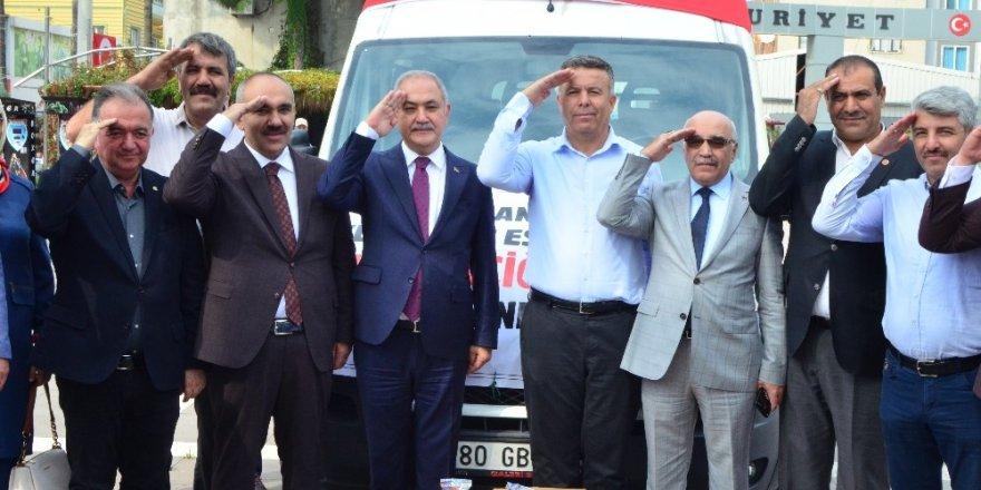 Şehitler diyarından Mehmetçiğe 2 ton yer fıstığı