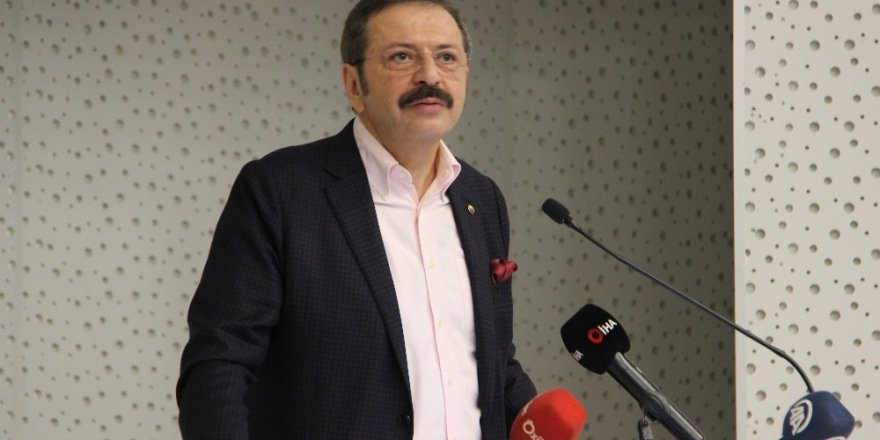 """TOBB Başkanı Hisarcıklıoğlu: """"Ticari davalar 3 ayda bitiyor"""""""