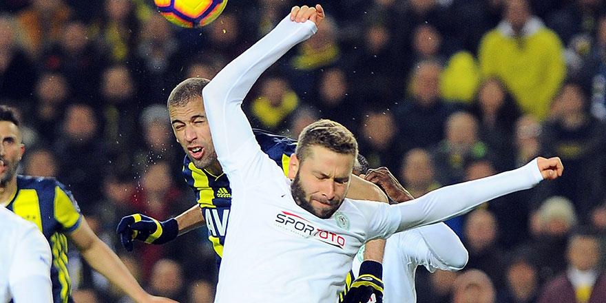 9.haftadaki rakip Fenerbahçe