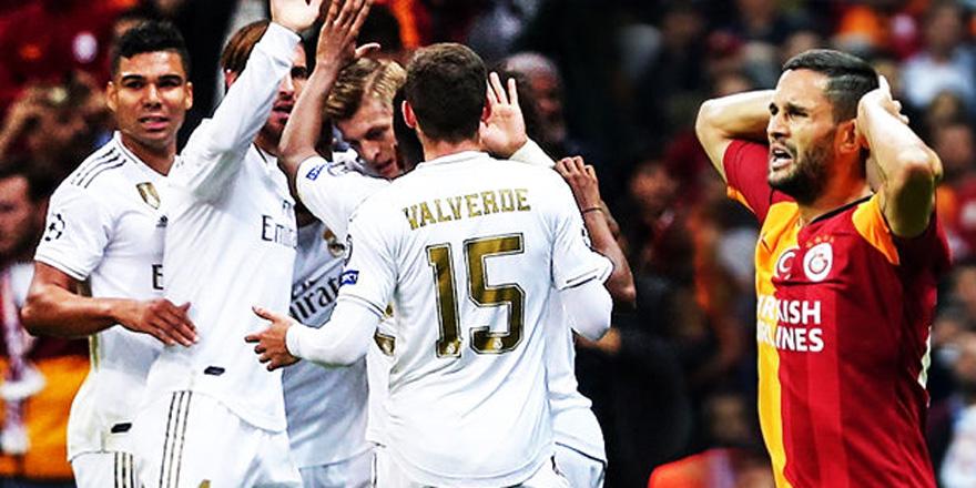 Galatasaray, Real Madrid'e diş geçiremedi!
