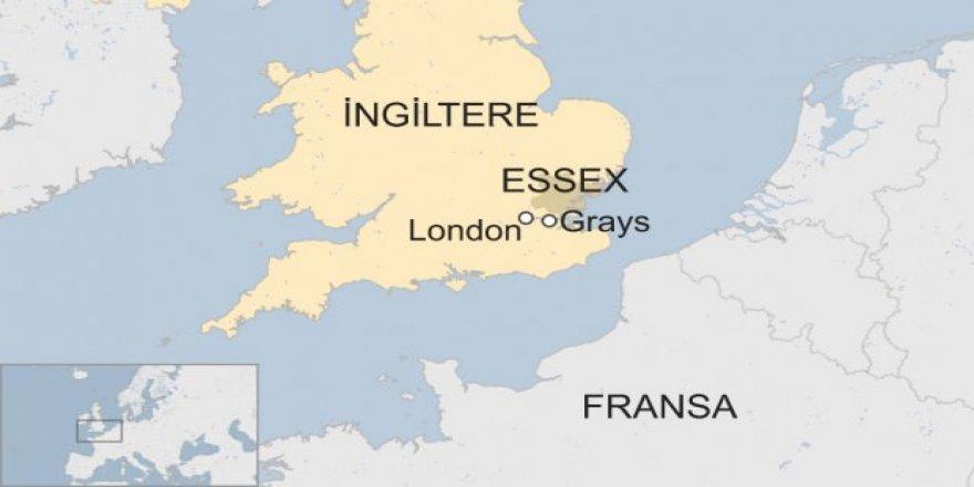 İngiltere'de bir kamyon dolusu ceset bulundu!