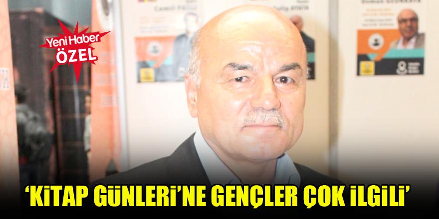 Osman Uzunkaya: Kitap Günleri'ne gençler çok ilgili