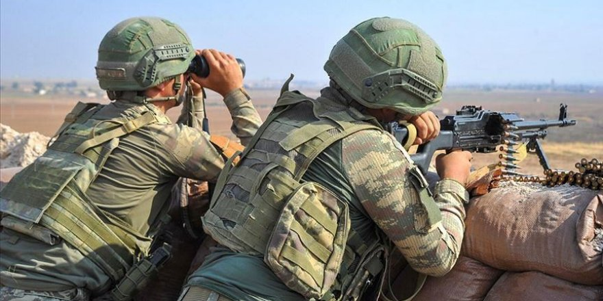 YPG/PKK terrorists harass Turkey's safe-zone op. area in N.Syria