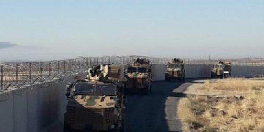 Türkiye-Rusya askeri unsurlarının 3'üncü ortak kara devriyesi başladı