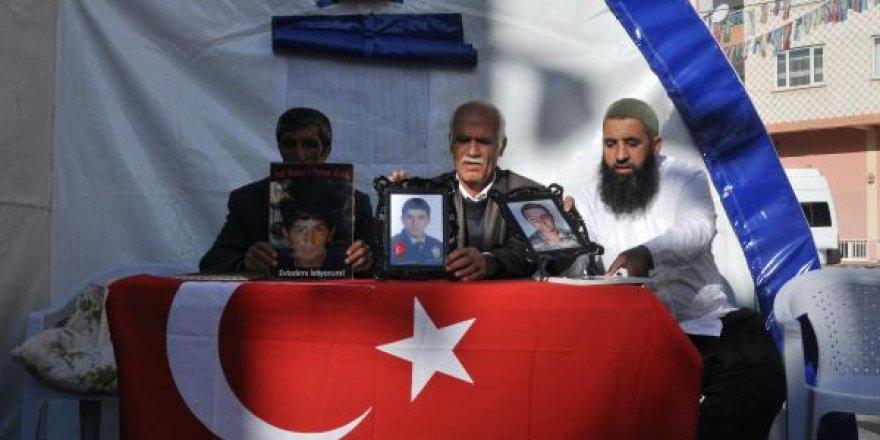 HDP önündeki eylemde 67'nci gün; Oğlu kaçırılan annenin feryadı