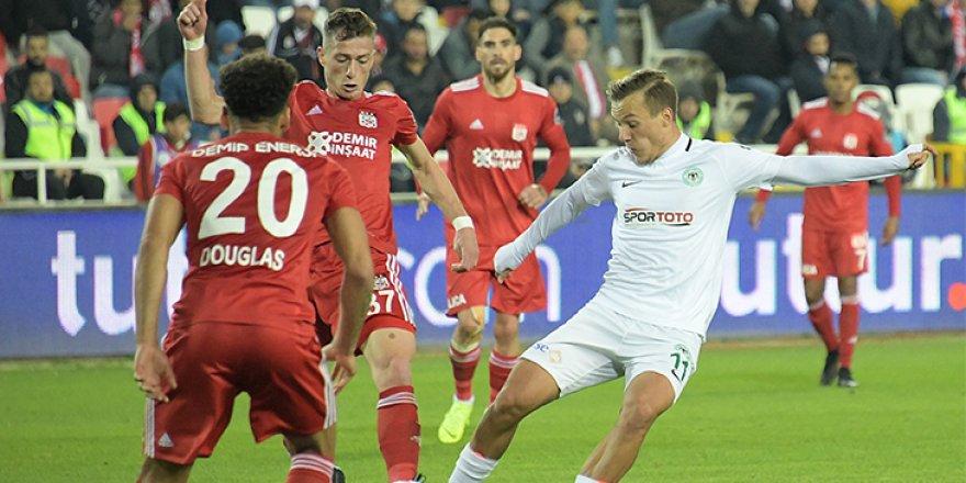 Konyaspor, Sivasspor maçı hazırlıklarını tamamlandı