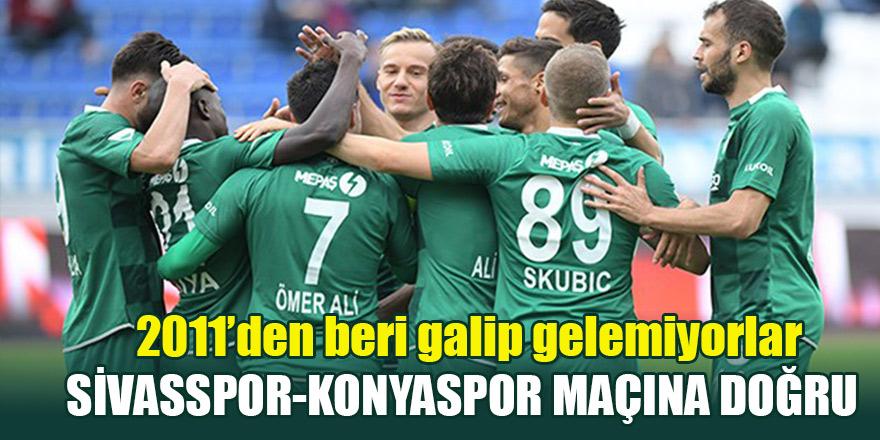 Sivasspor-Konyaspor maçına doğru