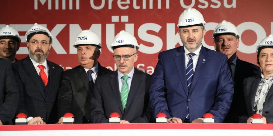 MÜSİAD'ın Milli Üretim Üssü TEKMÜSKOOP'un resmi temel atma töreni gerçekleştirildi