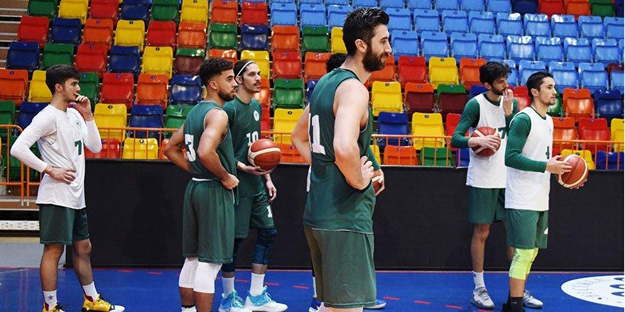 Konyaspor Basket, hazırlıklarını sürdürüyor