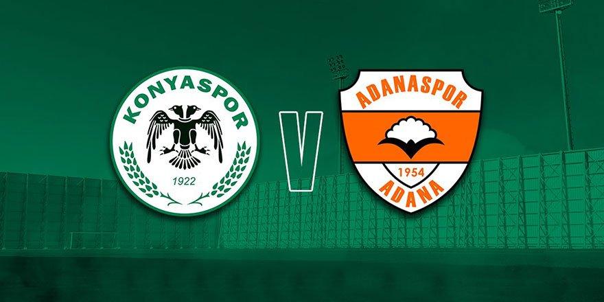 Konyaspor, Adanaspor ile karşılaşacak