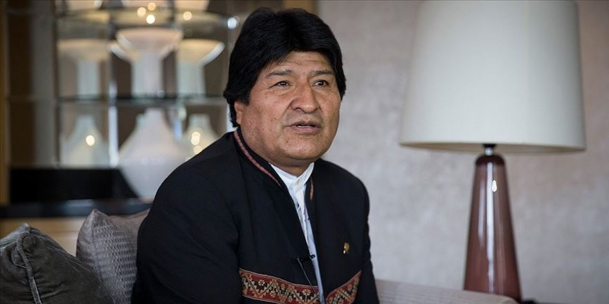 Yakalama kararı sonrası Morales'ten ilk açıklama
