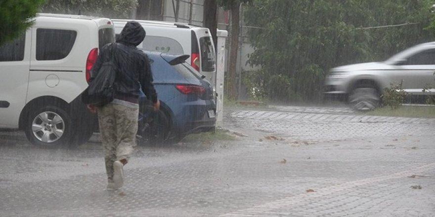 Marmara Bölgesi'nde kuvvetli yağış uyarısı