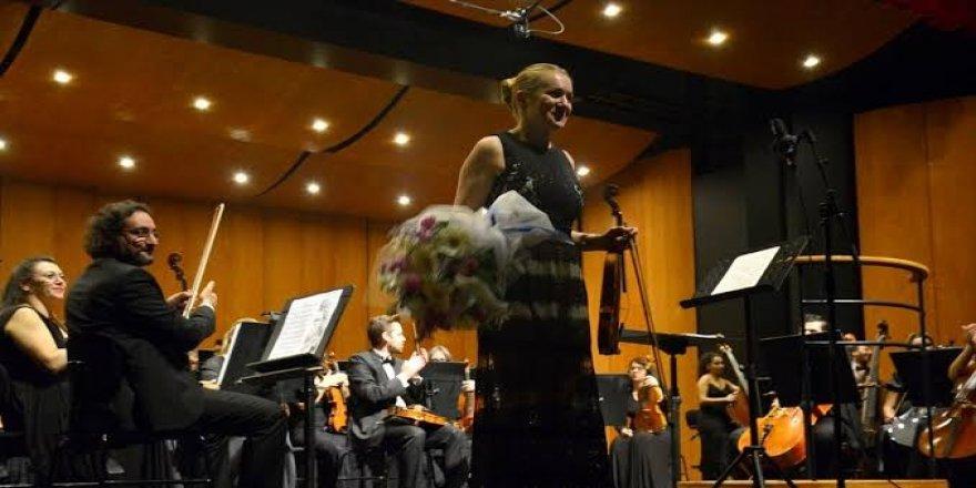 BBDSO keman sanatçısı Rebekka Hartmann'ı ağırladı